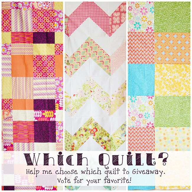 Help me choose the quilt!!