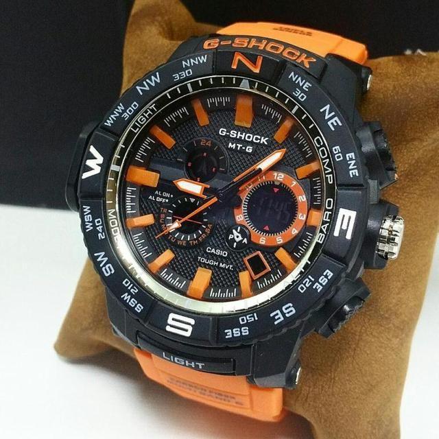 Orange G-Shock Sports Mens Watch