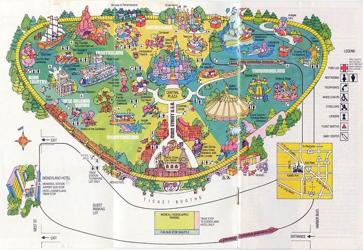 27 Best Images About Disney Maps On Pinterest Tokyo
