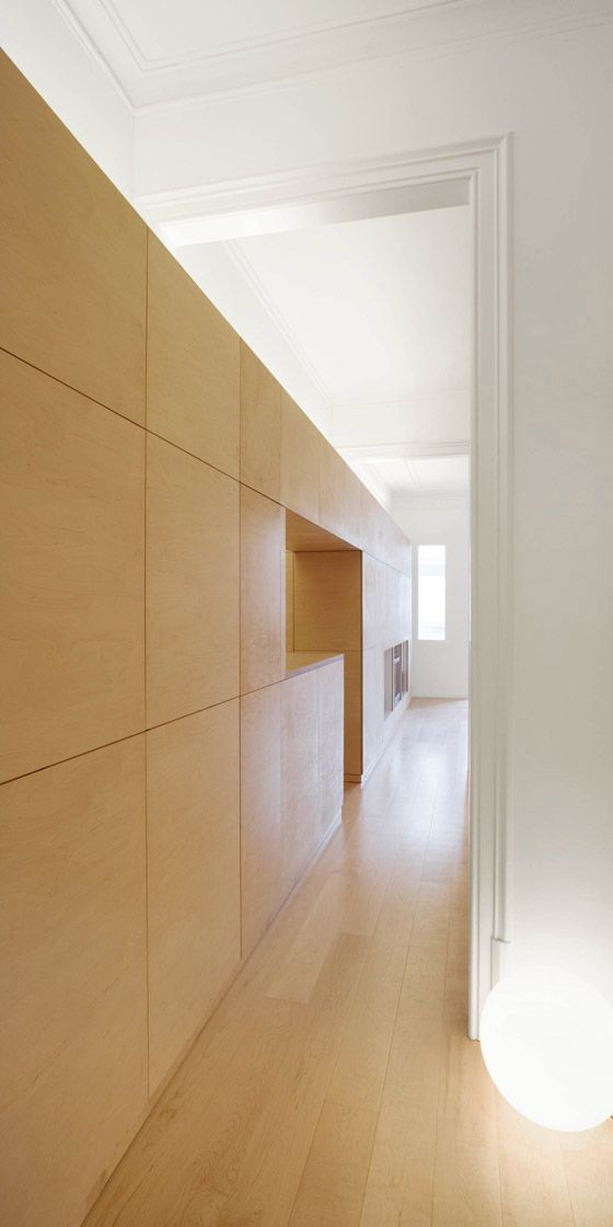 Eixample flat by dataAE Architecture . Photo Adrià Goula. Catalonia