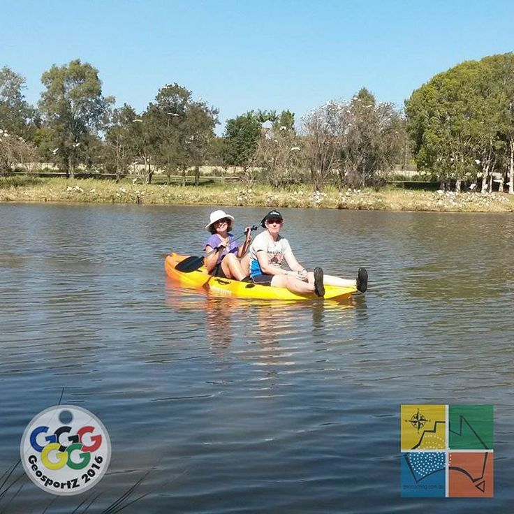 teamdfl,T-Tech and IolantheK worked as a team to get to the Yakin' In The Hills cache [GC6BAJ5] at Bald Hills Creek in #QLD. They disturbed some ibis for a short time but were still able to claim this find for their canoeing/kayaking challenge in #geosportz2016. #geocachingaustralia #GCA #geocachingphotos #geocachingadventures #getoutside #kayaking #teamwork #seeaustralia #australia #queensland #ilovegeocaching #outdoorfun #freeandopengeocaching #aquaticfun #kayak #baldhills