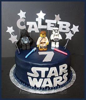Lego Star Wars cake ideas