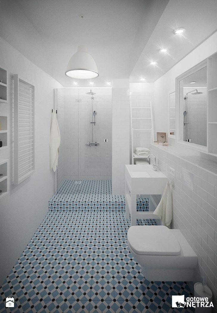 Łazienka Paris - zdjęcie od Gotowe Wnętrza - Łazienka - Styl Skandynawski - Gotowe Wnętrza