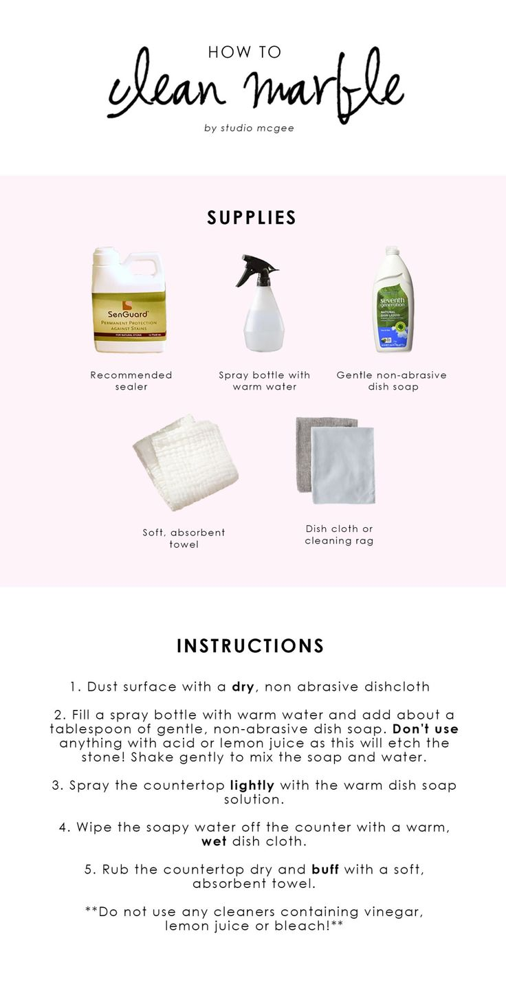 Studio McGee | How to keep your marble sparkling