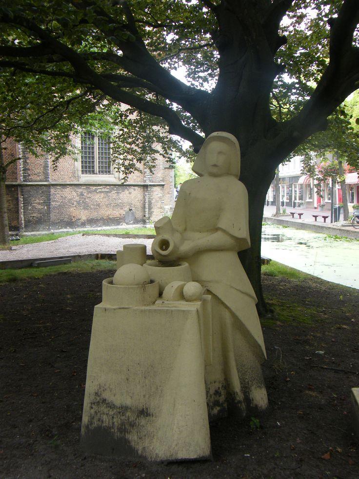In Tribute Of :The Milkmaid (De Melkmeid Or Het Melkmeisje), Sometimes  Called