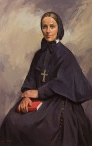 """Frances Cabrini - Spirituality  We seek to communicate God's personal love in ways that touch hearts, inspire deeper relationships with God and foster the authentic human and spiritual development of ourselves and others."""""""