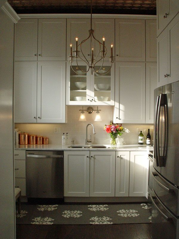 Stacked Kitchen Cabinets Stacked Kitchen Cabinets In A