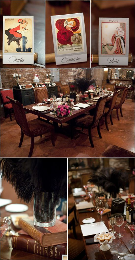 189 best images about speakeasy dinner party on pinterest for 1920s decoration party