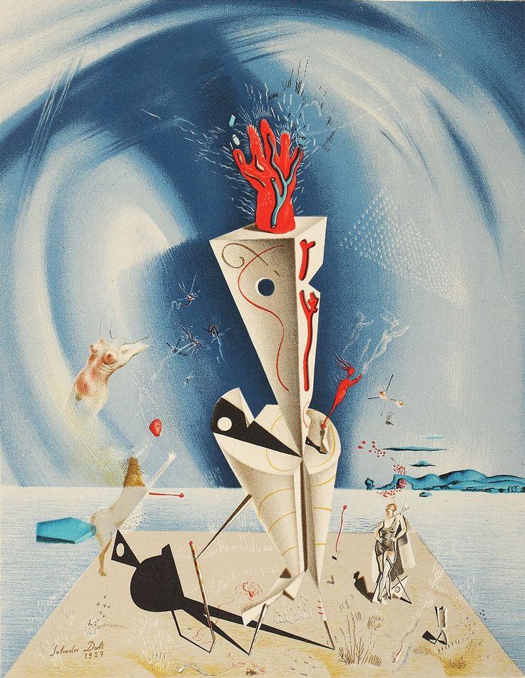 Lot 12, Salvador Dalí - Apparatus and Hand