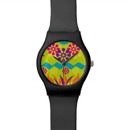 abstract geometric sporty watch - diy individual customized design unique ideas