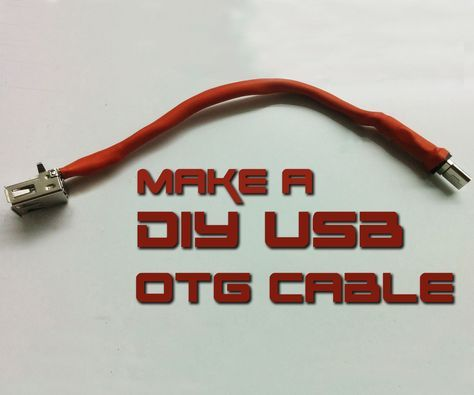 Did you forgot to put an important file on your USB key or you want to type faster on your smart phone? If your one of those watch this tutorial where I build nice and compact USB OTG 'On-The-Go' cable from an old Usb connectors.Video:  The best smart watch on the market!  http://amzn.to/2vzndjv