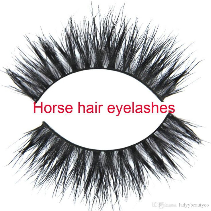 Natural Style Horse Fur Eyelashes Gift for Sexy Girls Handmade Real Luxurious Natural Horse Fur Thick Soft Cross Eyelashes Online with $1.9/Pair on Ladyybeautyco's Store | DHgate.com