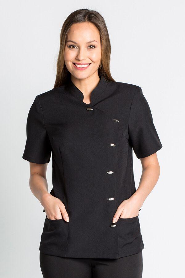 blouse médicale noire