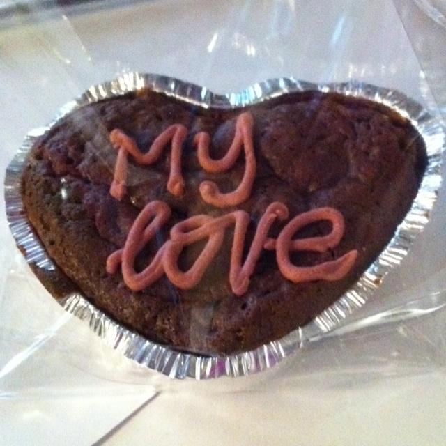 The Perfect Bun. Saint Valentine's cake.