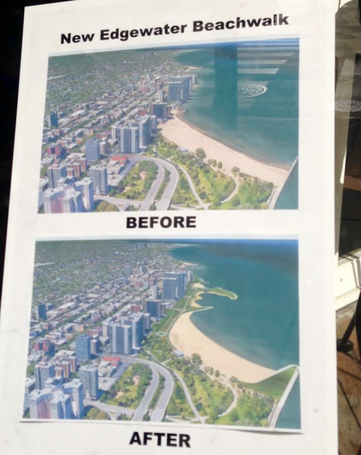 Edgewater Beach proposed bike path Ardmore to