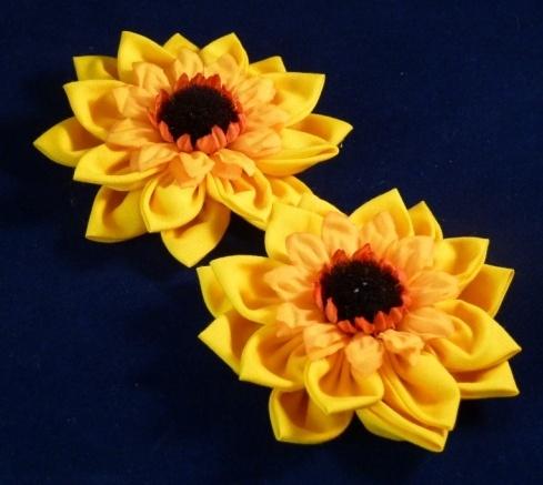 Beautiful Sunflower Brooch