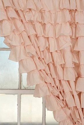 drapes for nursery - urban outfitters. I wonder if they have these in ivory??