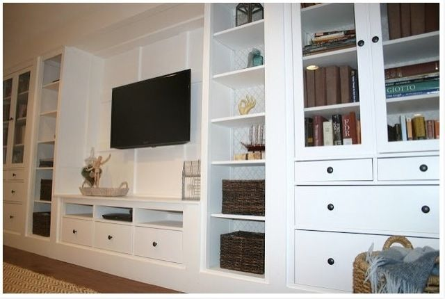 How To Built Your Own Built Ins Using Stock Cabinets
