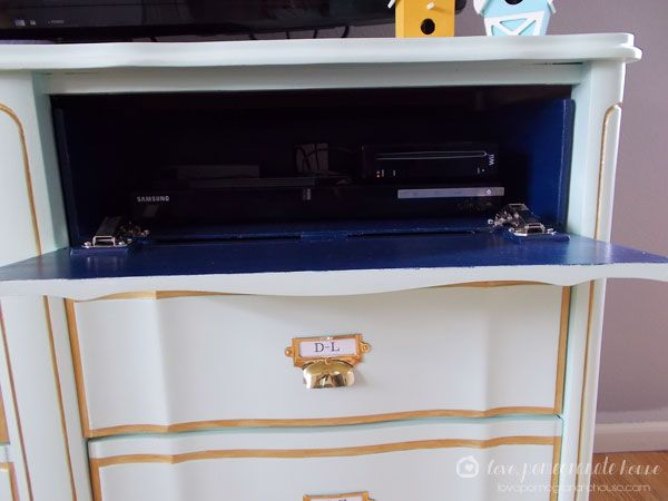 How To Make A Flip Down Media Drawer Diy Pinterest