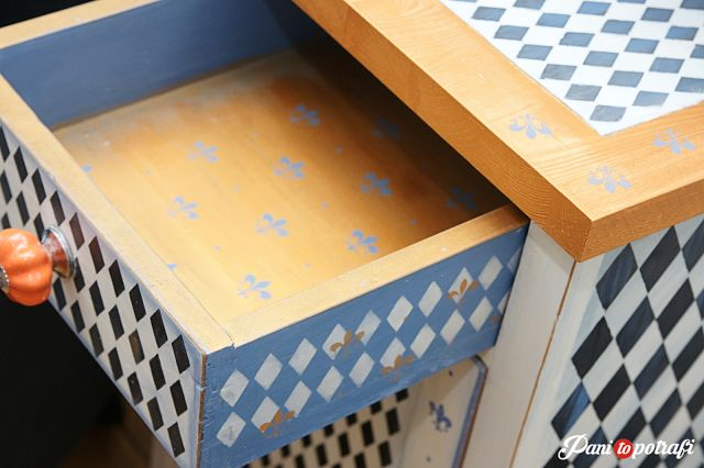 przeróbka mebla malowanie renowacja odnawianie DIY
