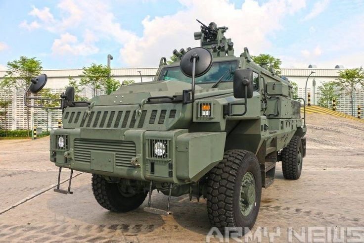 pcsv (protected Combat Support Vehicle) singapore