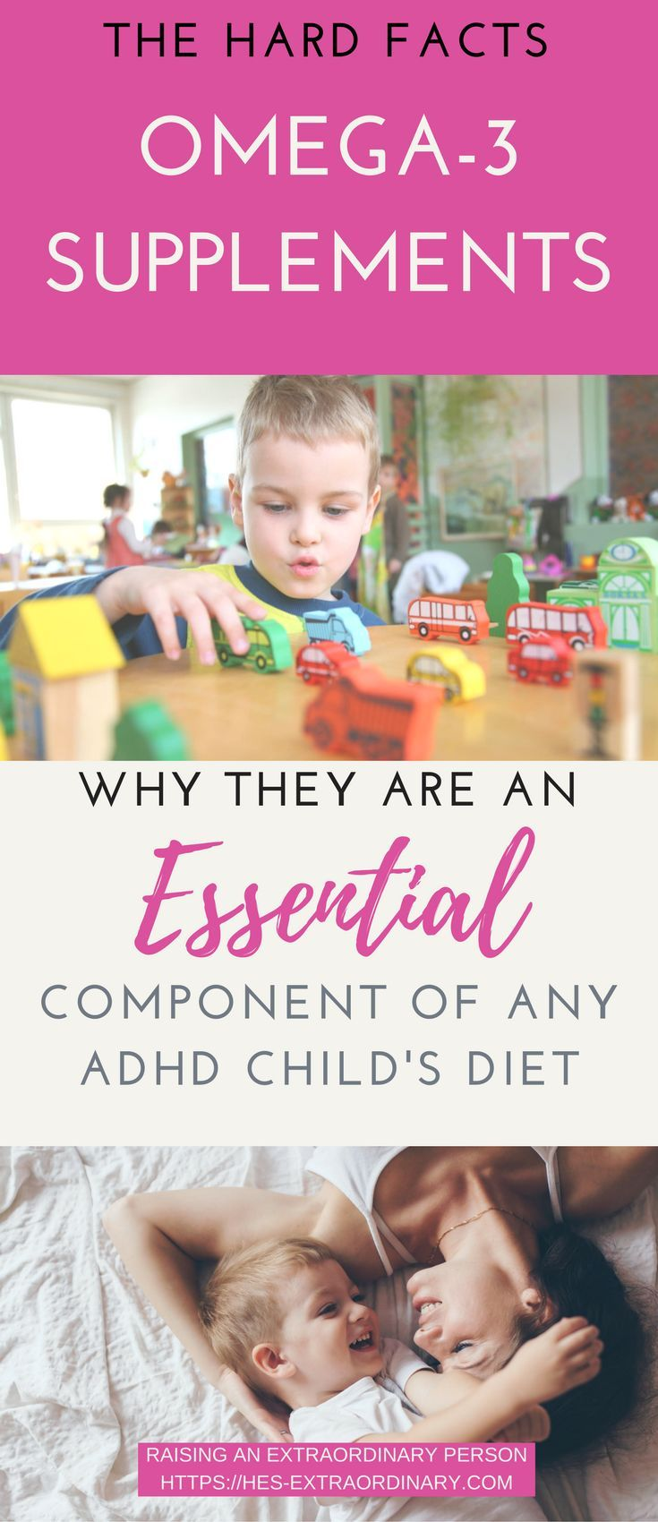 Omega 3 Supplements For ADHD