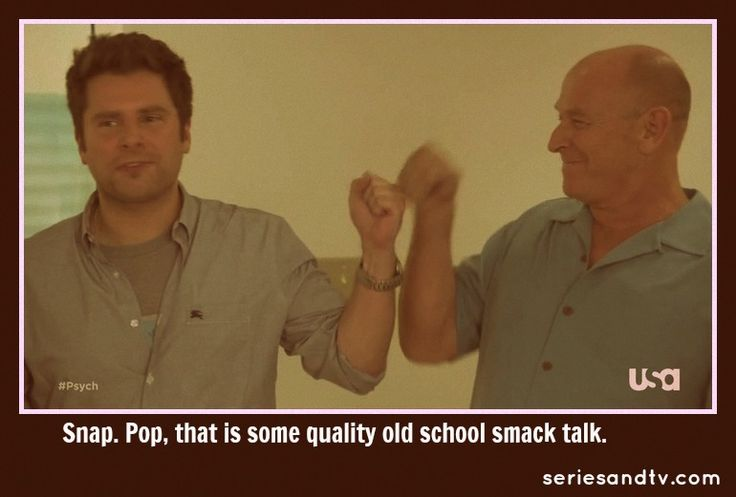Shawn and Henry Fist Bump. Anyone know what episode this is from?: