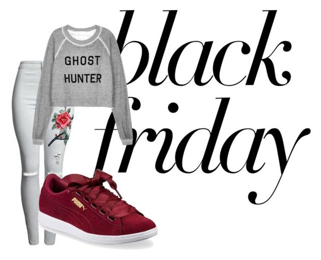 """Untitled #335"" by alex-reid-faulkner on Polyvore featuring Wildfox and Puma"