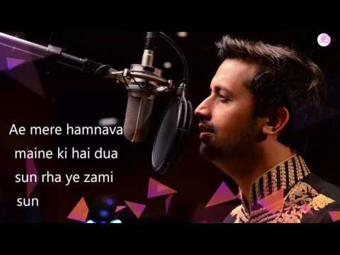 Atif Aslam Hindi song status for whatsapp!!! - YouTube