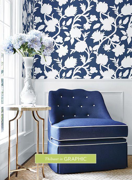 Designer Wallpaper, Fine Fabrics U0026 High End Furniture | Thibaut