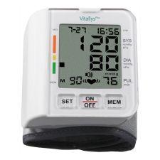 Cuídate, garantiza la correcta medición de la tensión arterial con este tensiómetro digital Vitallys con forma de pulsera, te indica arritmias, hipertensión y cuenta con noventa memorias. Pídelo ya.