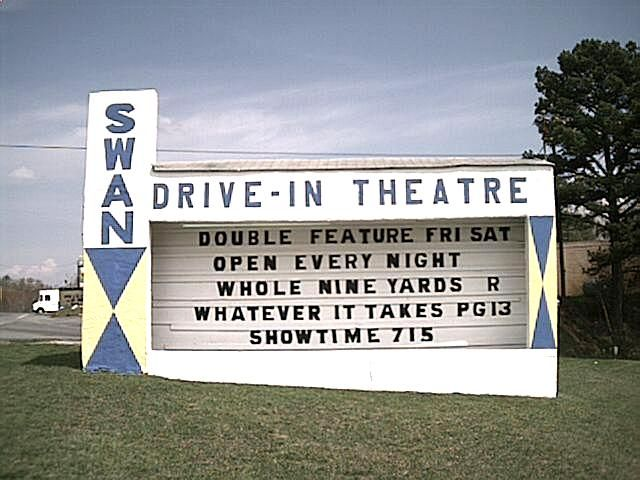This theater in the Blue Ridge Mountains opened in the 1950s with showings of classic films.