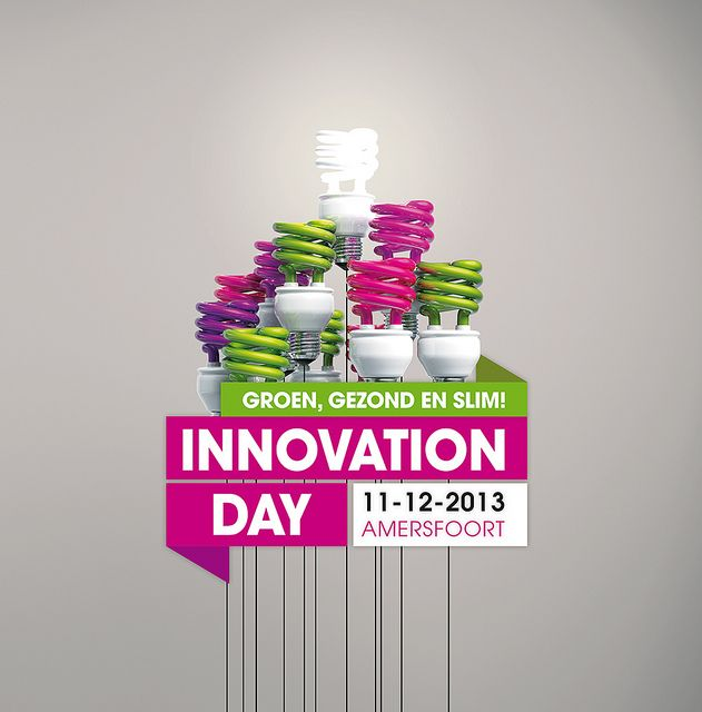Logo Innovation Day 2013 #IDay13 #LikeableDesign #LogoDesign