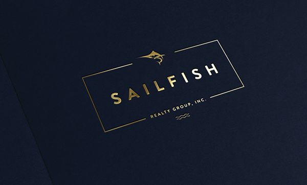 L O G O S on Behance #logo #gold #deep #blue #sophisticated #fresh #slick #love #typography