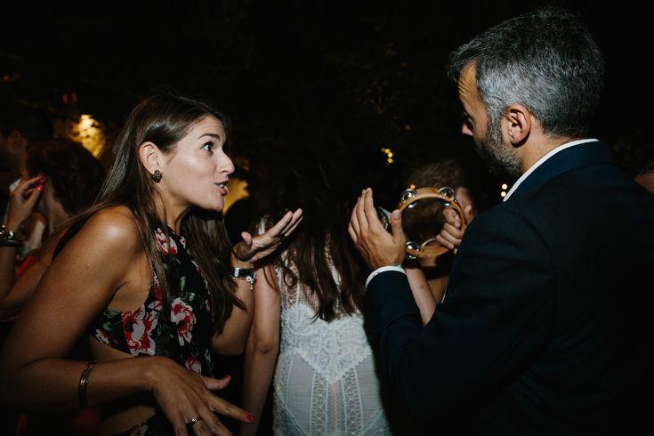 Chic Wedding garden party fun tabor dancing| lafete