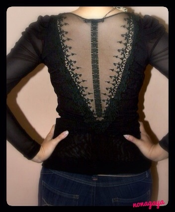 Black Lace Top IDR100.000 only!
