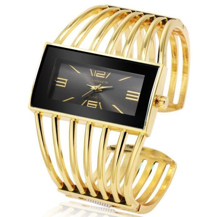 Elegante Pulsera De Lujo Para Dama Rose Gold Watches Rose Gold Bangle Bracelet Bracelet Watch