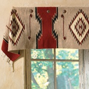 valance out of rugs we have?  Justin's -  Crows Nest