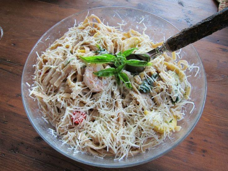 Lemon Shrimp LinguiniAwesome Food, Seafood Recipe, Kristy Stuff, Lemon Shrimp, Shrimp Linguini, Recipe Ideas, Prawns Shrimp, Prawn Shrimp, Decor Edging