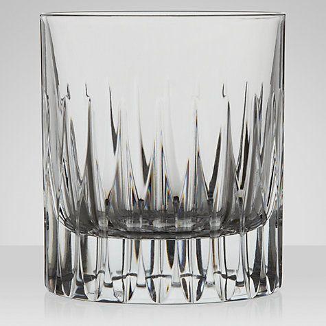 Buy RCR Cristalleria Da Vinchi Prato Whisky Glass, 0.29L, Clear Online at johnlewis.com