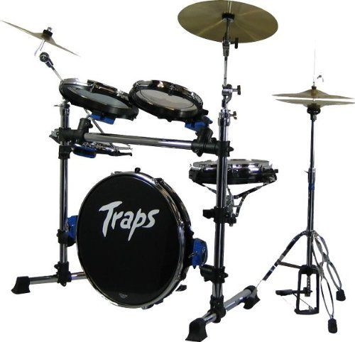 Traps Drums A400 N/C 5 Piece Portable Rack Mounted Drum Set by Traps Drums. $599.00. The Traps A-400N/C is the only truly portable drum kit on the market today. Be the first member of the band to set up and the first one going home after the gig. The Traps A400N/C is light weight and portable, and best of all the sound will amaze you. Close your eyes and you will think you are listening to any other high quality full size drum set, take a look and you think your ...