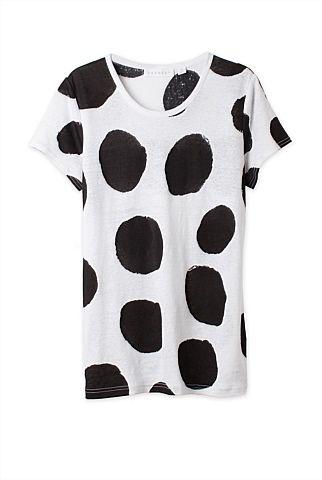 Spot Linen T-Shirt