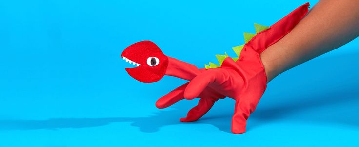 5 glorious glove puppet dinosaurs to make at home | Lost My Name