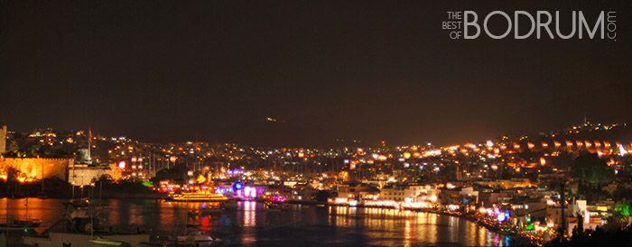Bodrum changes appearance at nights turning from an Aegean town to a city that never sleeps. Frankie would love it!