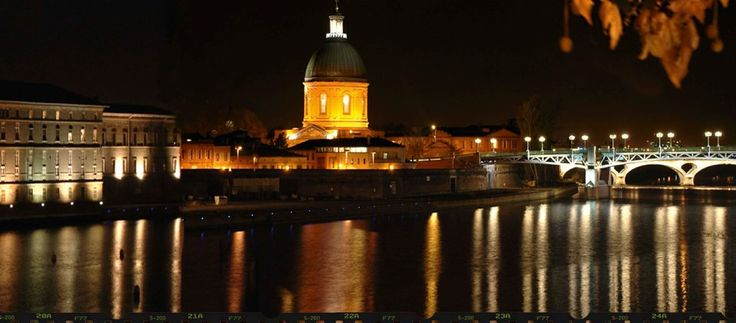 Toulouse seen by photographer Jan Renette through Claude Nougaro. / Photo DR