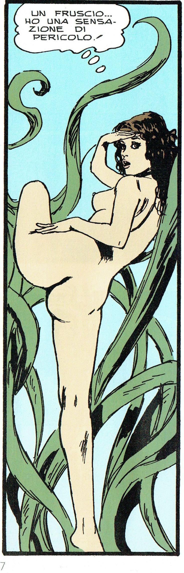 Manara Maestro dell'Eros-Vol. 21, Jolanda De Almaviva-117b