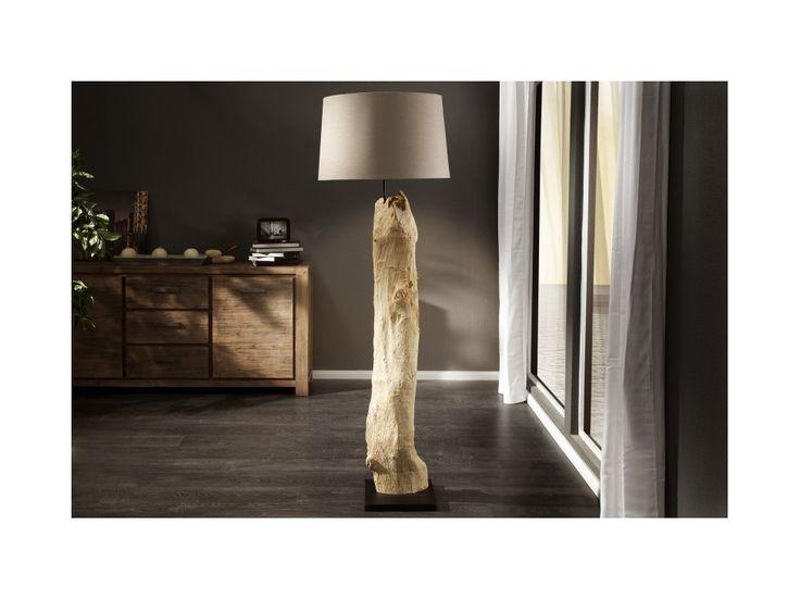 Lampa Podłogowa Rousilique beżowa — Lampy podłogowe Invicta Interior — sfmeble.pl