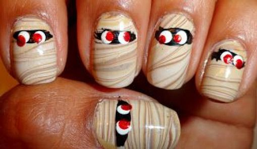 Mummy Nails Oktober 2012 #nailcolor #nail #color #september   – Nail Color