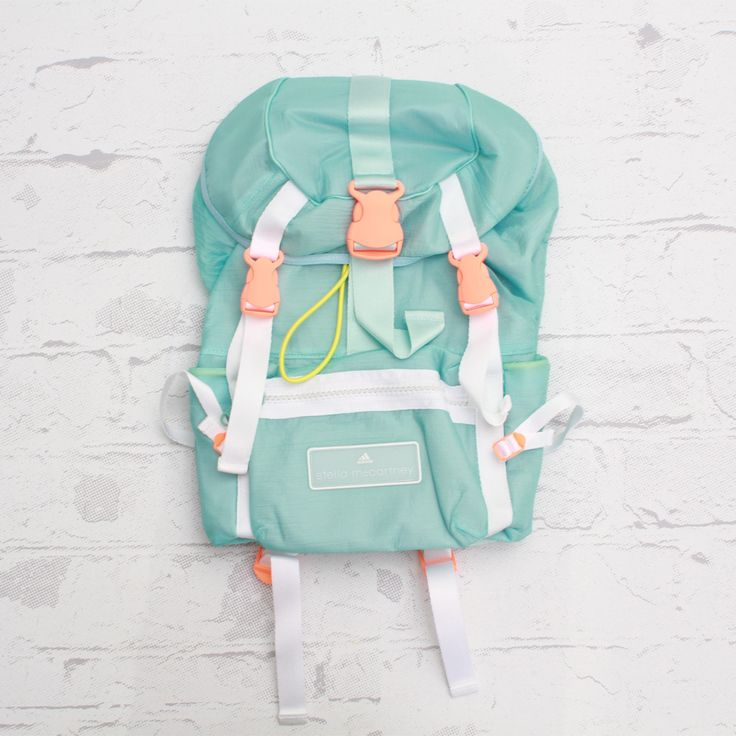 Adidas by Stella McCartney Backpack (Vapour Blue/White)