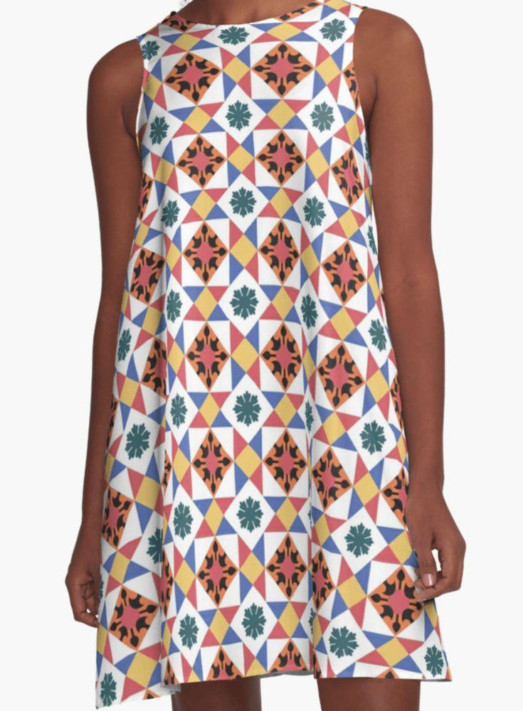 Moroccan Dress - Girl Dress - A Line Dress for Woman - Modern Dress